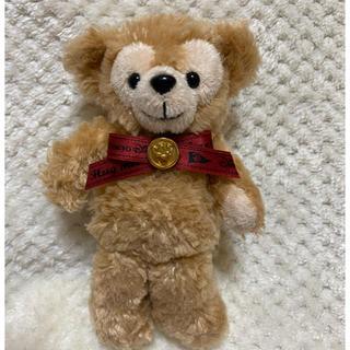 ダッフィー - ダッフィー初期 赤リボン ぬいぐるみバッジ 2006年