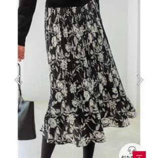 スタイルデリ(STYLE DELI)のスタイルデリ 【LUXE】フラワー柄プリーツスカート(ロングスカート)