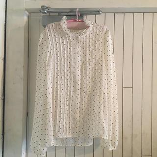 vintage heart blouse.