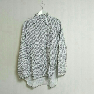 dude9 オーバーサイズシャツ