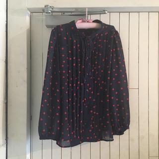 us vintage tomato blouse.
