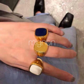 TODAYFUL - rapis ring & oldceline ring 《gold》