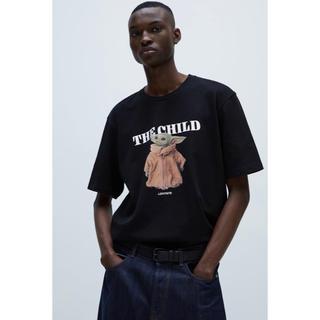 ザラ(ZARA)のZARA ディズニー ヨーダ Tシャツ ロゴT(Tシャツ/カットソー(半袖/袖なし))