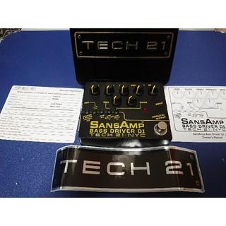 TECH21 Sansamp Bass Driver DI V2(ベースエフェクター)