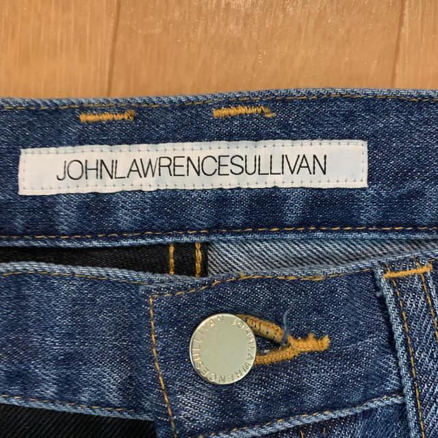 JOHN LAWRENCE SULLIVAN(ジョンローレンスサリバン)のJOHN LAWRENCE SULLIVAN  バイカラーデニム 46 メンズのパンツ(デニム/ジーンズ)の商品写真