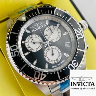 インビクタ(INVICTA)の【新品】インビクタ グランドダイバー 腕時計 ブラック クォーツ メンズ(腕時計(アナログ))