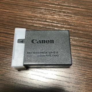 Canon - Canon 純正バッテリー LP-E17