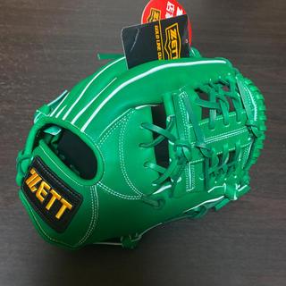 ZETT - グローブ 硬式用 内野手 ゼット ZETT グラブ 野球 新品未使用 グリーン