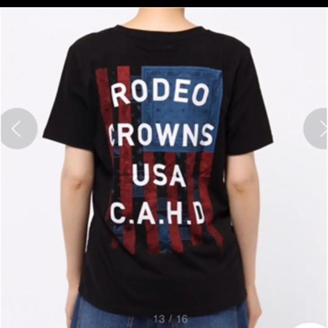 RODEO CROWNS WIDE BOWL(ロデオクラウンズワイドボウル)の【人気🌷】RCWB Tシャツ レディースのトップス(Tシャツ(半袖/袖なし))の商品写真