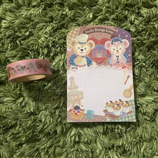 Disney - ダッフィー シェリーメイ メモ マスキングテープ