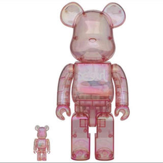 MEDICOM TOY - BE@RBRICK X-girl 2020 100% & 400%