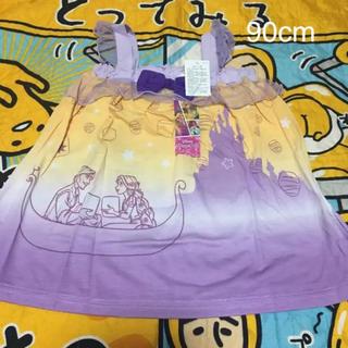 ディズニー(Disney)の新品 ラプンツェル サマードレス ワンピース 90cm(ワンピース)