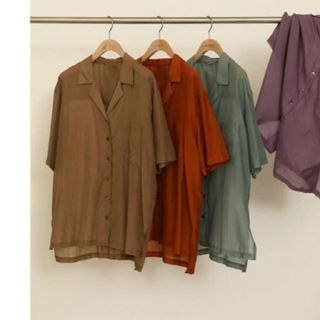 TODAYFUL - Silk Boyfriend Shirts'ボーフレンドシャツ