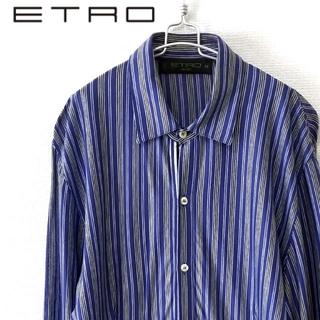 エトロ(ETRO)のETRO エトロ ストライプシャツ イタリア製(シャツ)