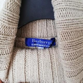 BURBERRY BLUE LABEL - BURBERRY タートルネック ニット ブラウン