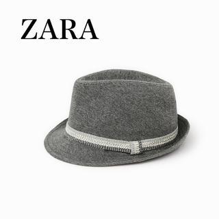 ザラ(ZARA)のZARA/ブリム付きプラッシュハット(帽子)