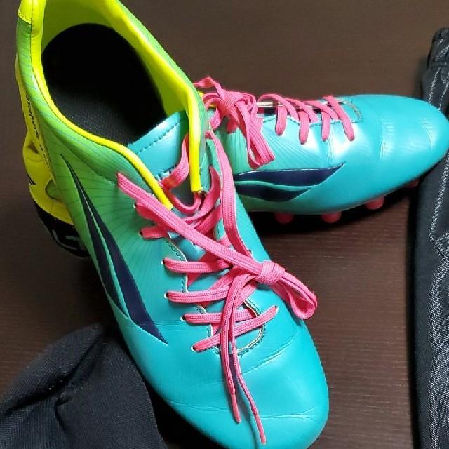 PENALTY(ペナルティ)の【スパイク売り切れ】ペナルティ スパイク フォルマ-MTFYL+サッカー用品 スポーツ/アウトドアのサッカー/フットサル(シューズ)の商品写真