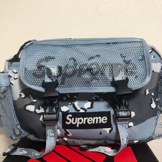 Supreme - Supreme 20SS Waist Bag Blue Camo 美品