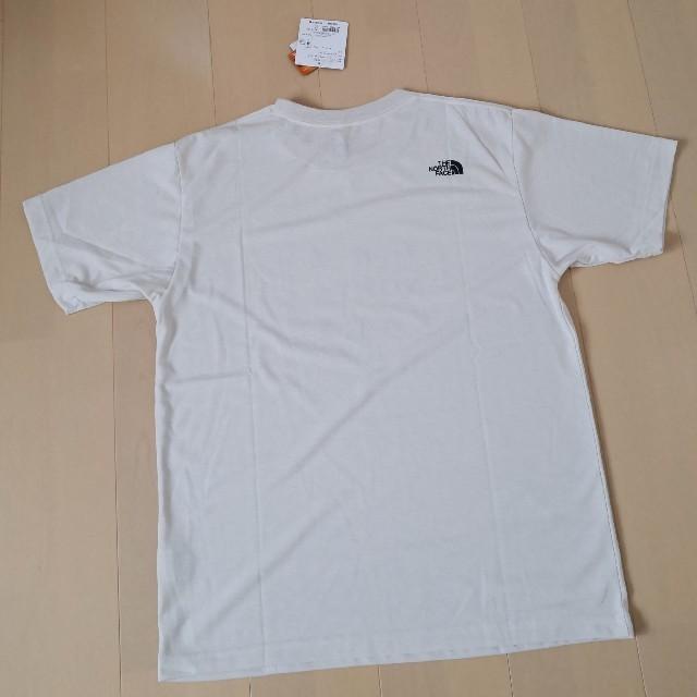 THE NORTH FACE(ザノースフェイス)の【新品】ノースフェイス S/S BOX TFN TEE ビンテージホワイト XL メンズのトップス(Tシャツ/カットソー(半袖/袖なし))の商品写真