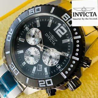 インビクタ(INVICTA)の【新品】インビクタ プロダイバー 腕時計 シルバー ブラック クォーツ メンズ(腕時計(アナログ))