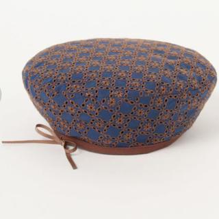 Ray BEAMS - Ray BEAMSコットンレースベレー帽