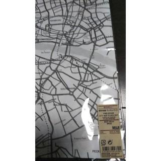 ムジルシリョウヒン(MUJI (無印良品))の無印良品 都市の地図ランチョンマット(テーブル用品)