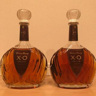 サントリー(サントリー)のサントリー XO  2本セット 古酒(ブランデー)