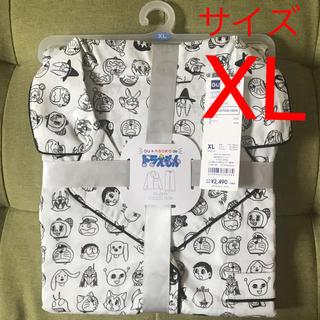 GU - GU パジャマ(長袖)DORAEMON2  XL ホワイト