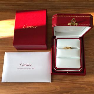 Cartier - Cartier カルティエ ラブリング 1Pダイヤ
