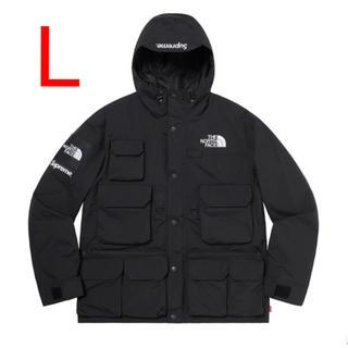 シュプリーム(Supreme)の【L】シュプリーム ノースフェイス Cargo Jacket Black 黒(マウンテンパーカー)