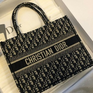 Christian Dior - クリスチャンディオール♡ブックトート♡BOOK TOTE♡スモール♡DIOR