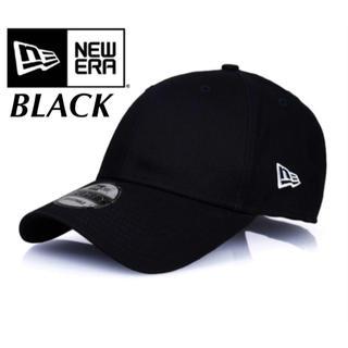 NEW ERA - ニューエラ キャップ ベーシック ブラック 黒 アジャスタブル