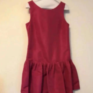 RED VALENTINO - ❤︎新品 タグ付き❤︎RED VALENTINOフレア切り替えワンピースドレス