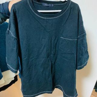 Tシャツ/カットソー(半袖/袖なし) L size 黒(Tシャツ/カットソー(半袖/袖なし))