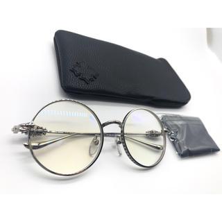 Chrome Hearts - クロムハーツ メガネ 眼鏡 サングラス GORGINA-I  シルバー 新品