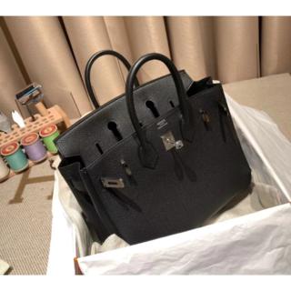 Hermes - 抜群のエルメスノアールハンドバッグ黒Birkin30<SV金具>