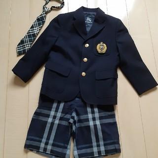 バーバリー(BURBERRY)のバーバリー フォーマル スーツ 110 120(ドレス/フォーマル)