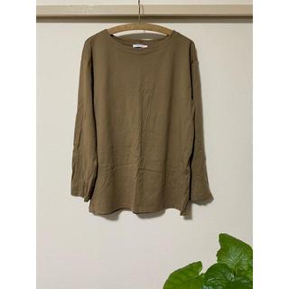 ザラ(ZARA)のZARA/ベーシック長袖Tシャツ/Lサイズ(Tシャツ/カットソー(七分/長袖))