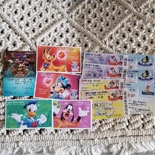 ディズニー(Disney)のディズニー使用済みチケット・リゾートラインチケット(遊園地/テーマパーク)