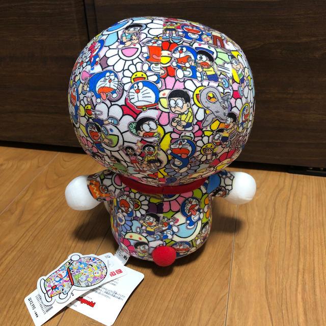 UNIQLO(ユニクロ)のユニクロ 村上隆×ドラえもん ぬいぐるみ エンタメ/ホビーのおもちゃ/ぬいぐるみ(ぬいぐるみ)の商品写真
