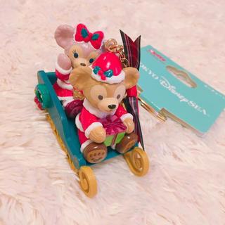 Disney - ダッフィー シェリーメイ  クリスマス キーチェーン
