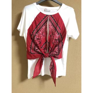 レッドヴァレンティノ(RED VALENTINO)のRED VALENTINO(Tシャツ(半袖/袖なし))