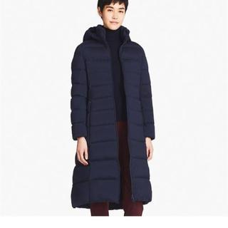 UNIQLO - ユニクロ ロングダウンコート 着痩せ Mサイズ美品