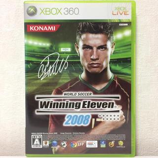 エックスボックス360(Xbox360)のXbox360 ウイニングイレブン 2008(家庭用ゲームソフト)