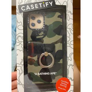アベイシングエイプ(A BATHING APE)のiPhone11pro casetify ape  ケース iPhone(iPhoneケース)