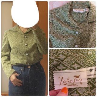 ロキエ(Lochie)の50's〜60's vintage blouse(シャツ/ブラウス(長袖/七分))