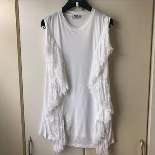 アクネ(ACNE)のACNE STUDIOS フリンジタンクトップ ロンハーマン 購入(Tシャツ(半袖/袖なし))