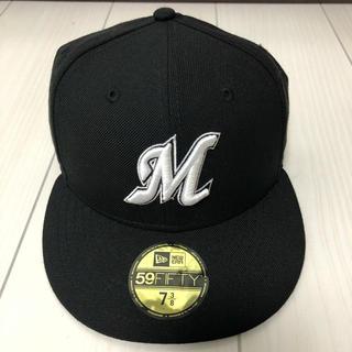 ニューエラー(NEW ERA)のニューエラ×千葉ロッテマリーンズ キャップ 帽子 7 3/8(応援グッズ)