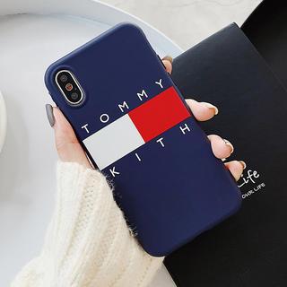 TOMMY HILFIGER - 人気のデザイン トミーフィルフィガー iPhoneケース  最新サイズもあります