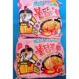 プルダックポックンミョン カルボ味(インスタント食品)